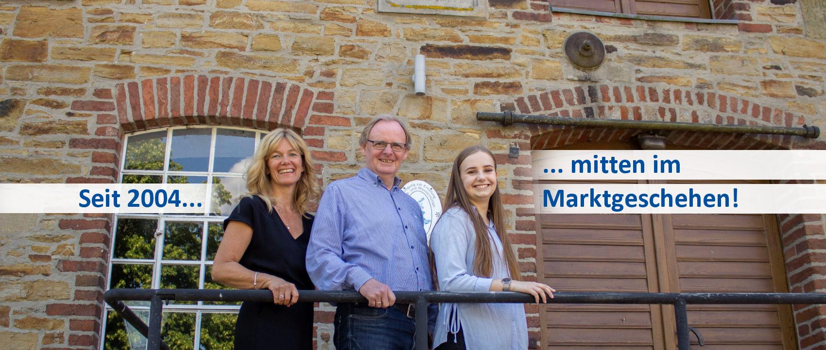 Das Team von Klenke Immobilien in Belm bei Osnabrück besteht aus drei qualifizierten MitarbeiterInnen.