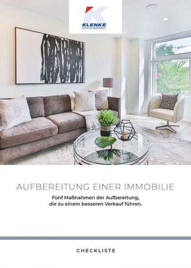 """Checkliste """"Aufbereitung der Immobilie"""""""
