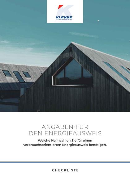 "Checkliste ""Energieausweis"""